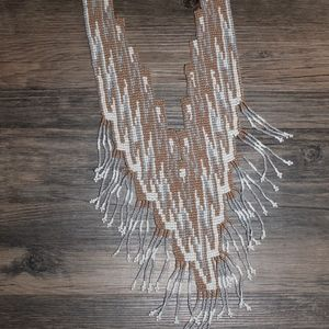 Beaded Statment Necklace